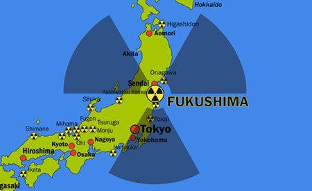 Fukushima : record de niveau de radiation
