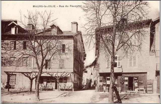 Rue du Pauverel dans les années 1900. Merci à Papou Poustache pour le prêt de ses photos ;)