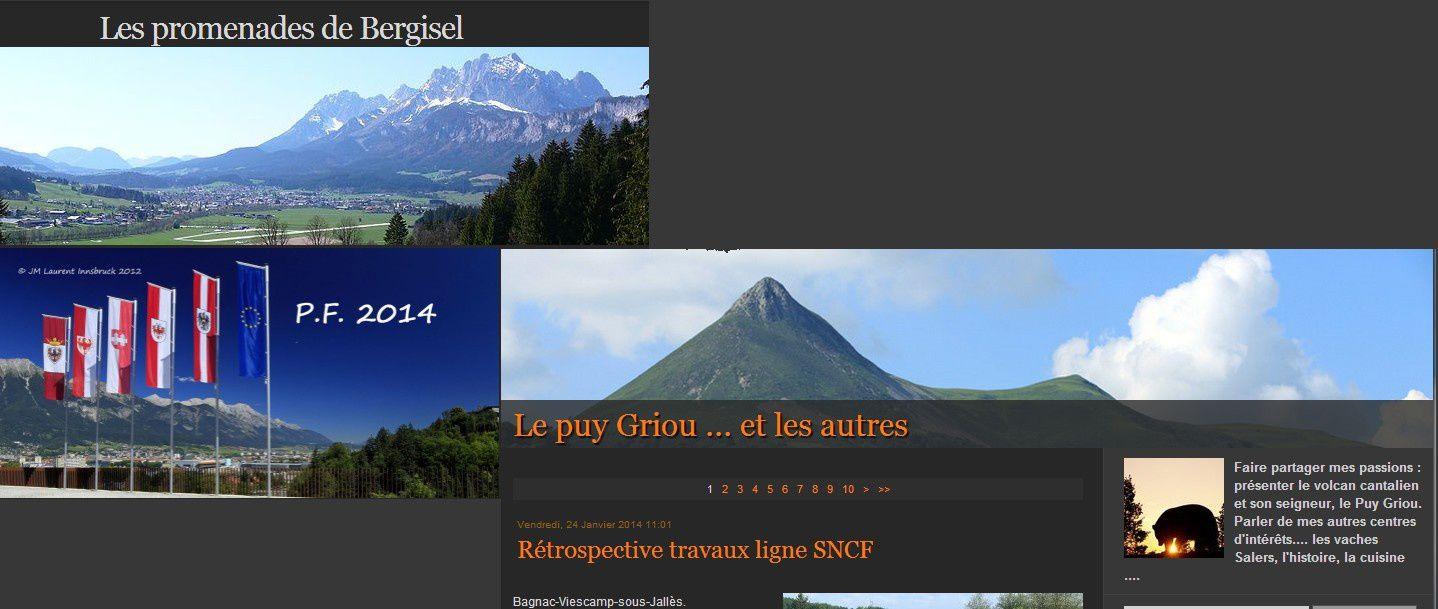 Cantal - Le Puy de Griou et les autres...