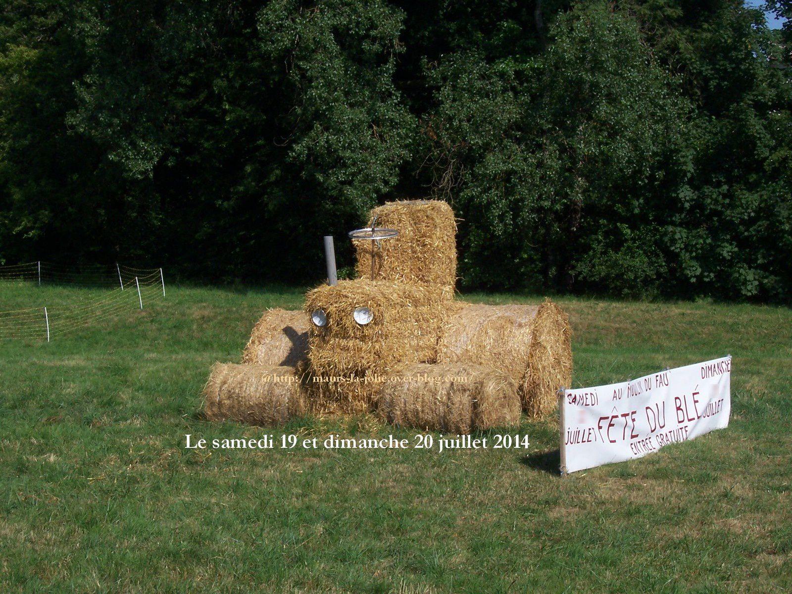Tracteur fête du blé 2013