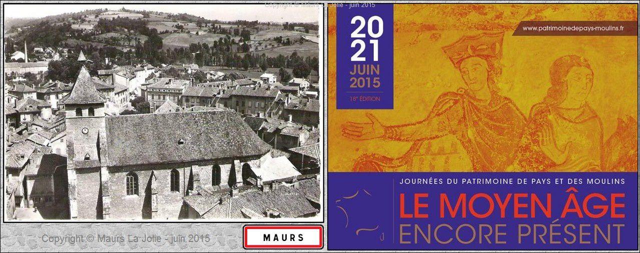 Journées du Patrimoine à Maurs