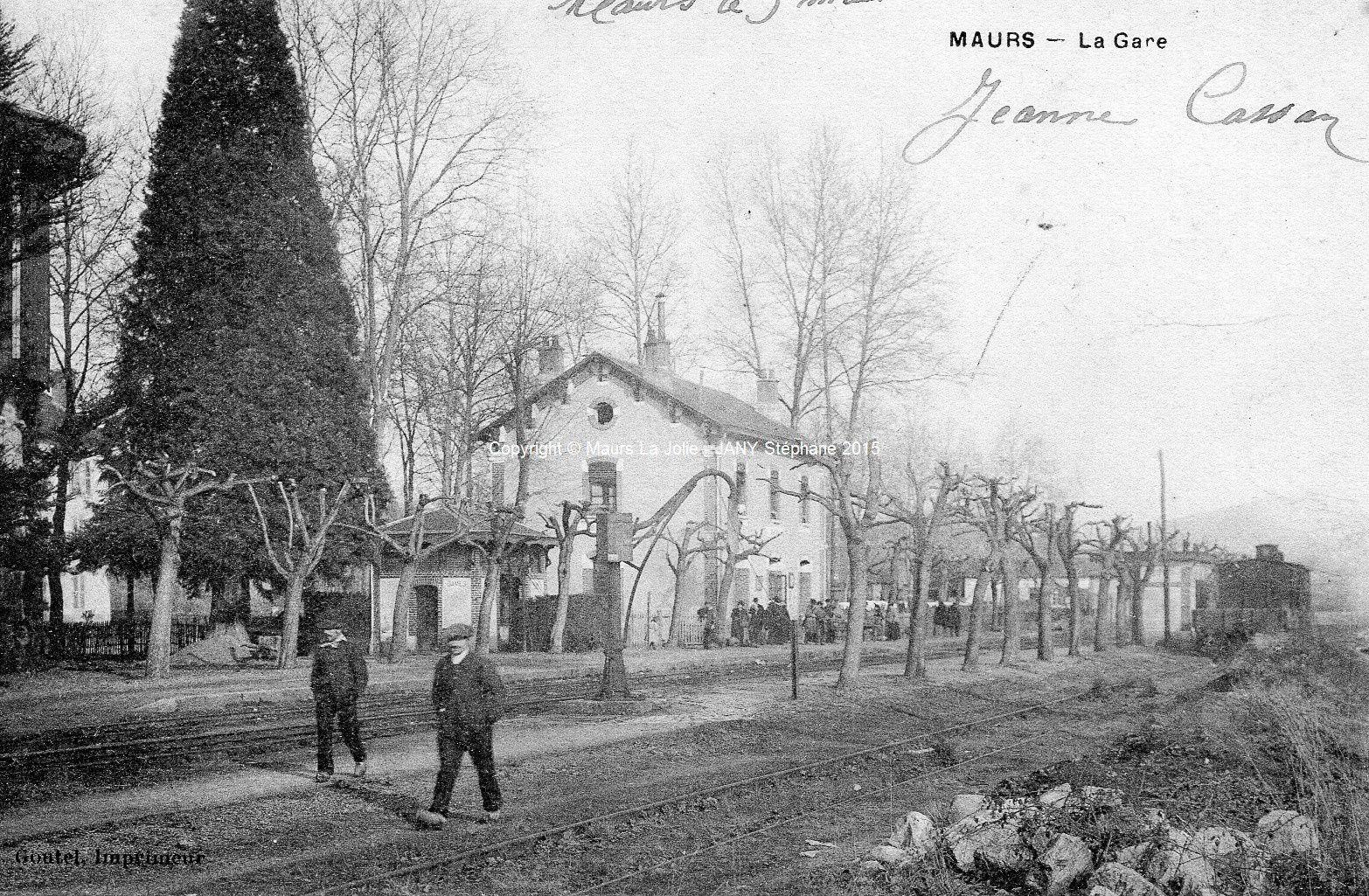 gare de Maurs en 1903