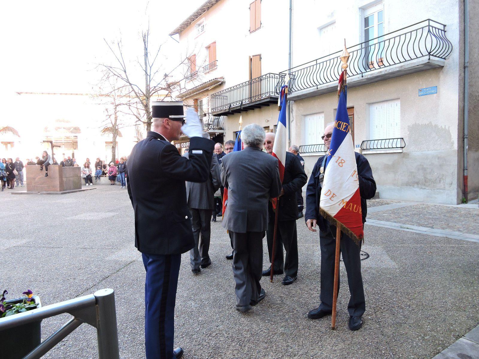 Cérémonie du 11 novembre 2015 à Maurs