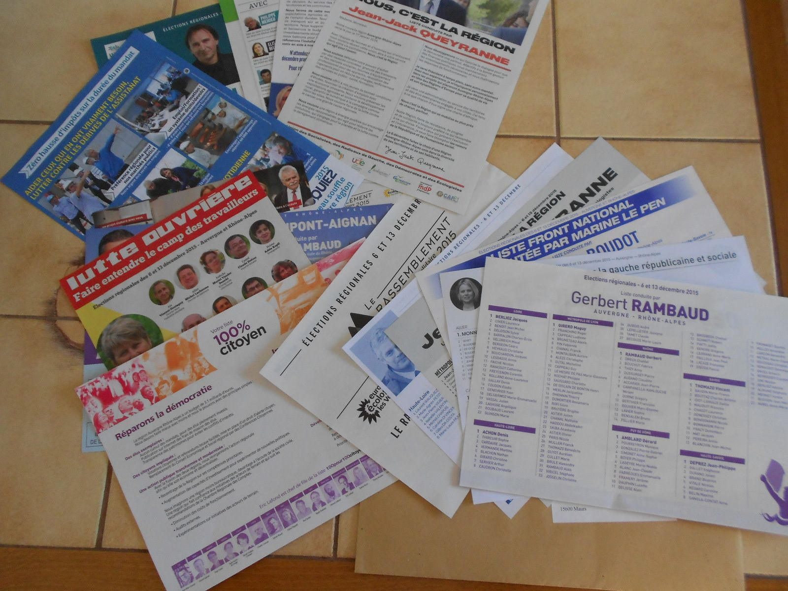 Bulletins de vote
