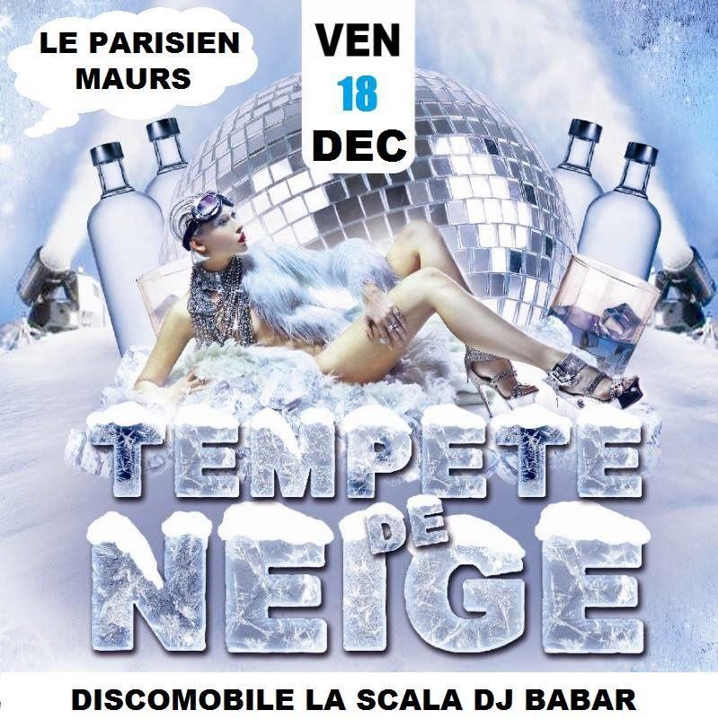 Soirée Tempête de Neige au Parisien