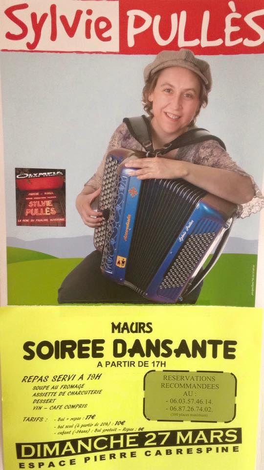 Soirée Sylvie PULLES à Maurs