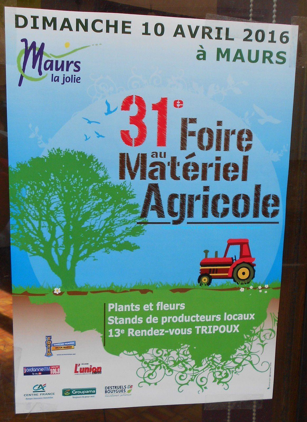 31ème Foire au Matériel Agricole à Maurs
