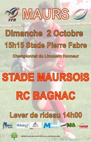 Match de Rugby - Maurs vs Bagnac