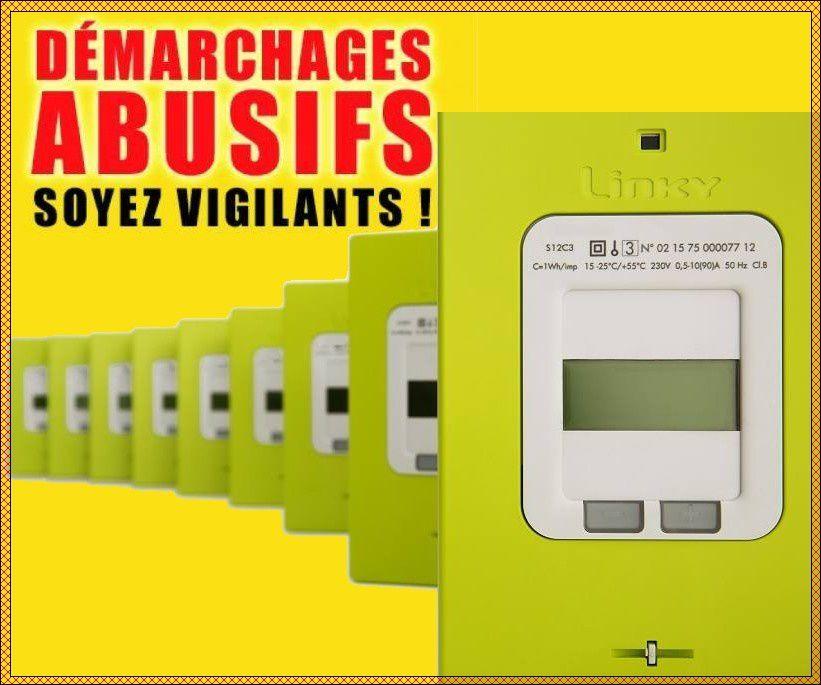 Démarchages abusifs - Compteurs LINKY