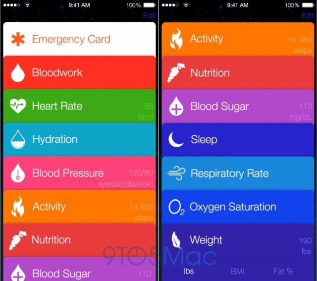 Apple se lance dans la santé : Healthbook..