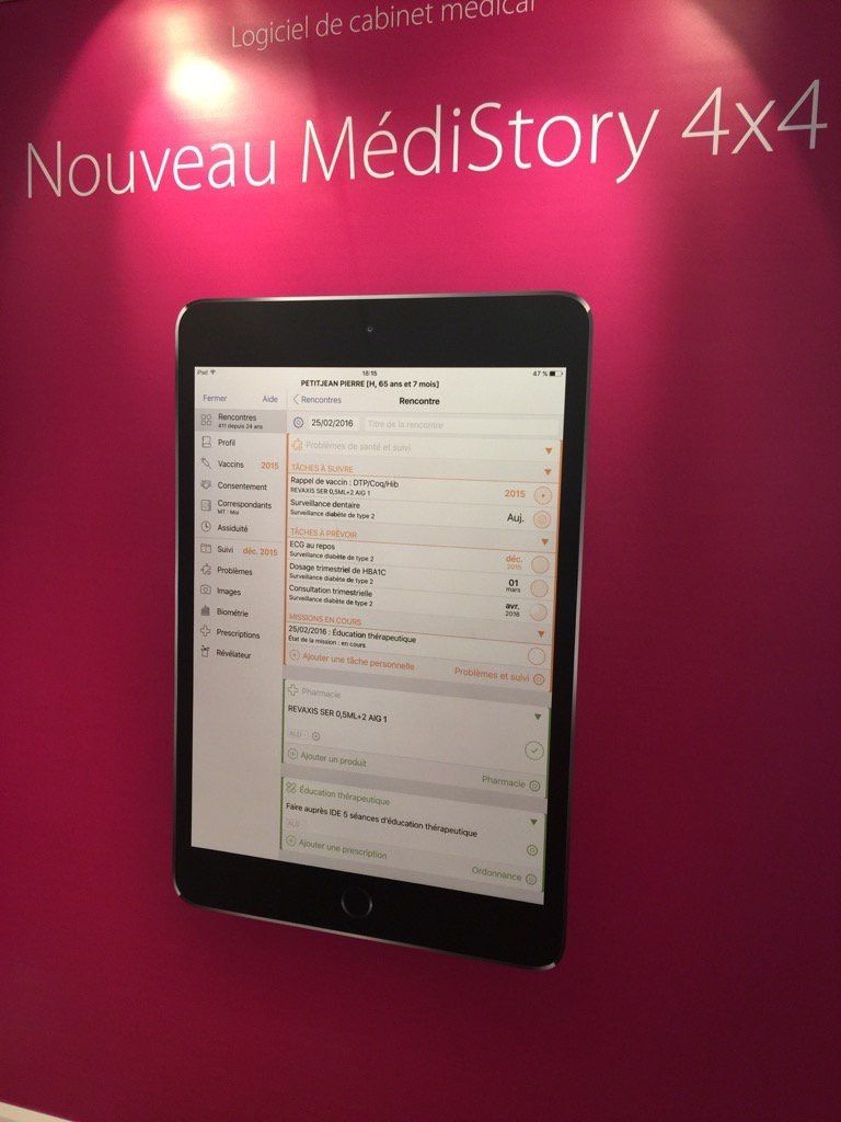 MediStory4 à découvrir au congrès  CNGE  à Grenoble