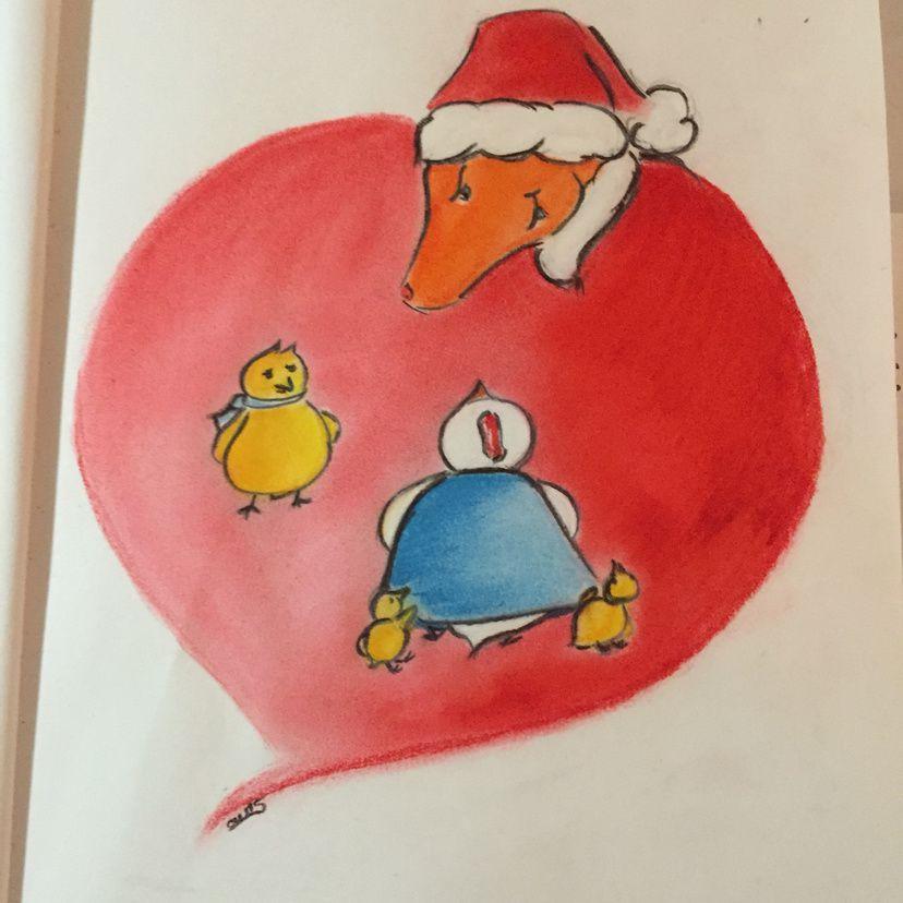La dictée de Noël est prête !!!