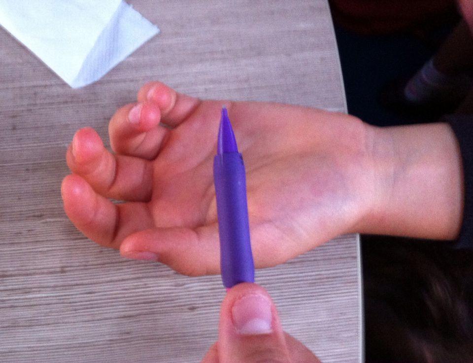 Dessiner des mains : première étape