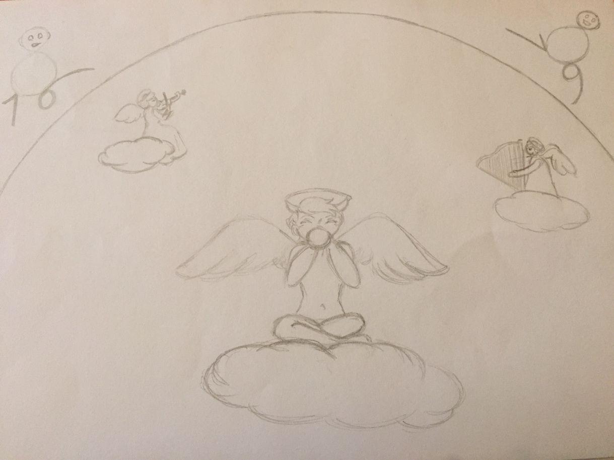 Le gentil petit diable : la scène finale