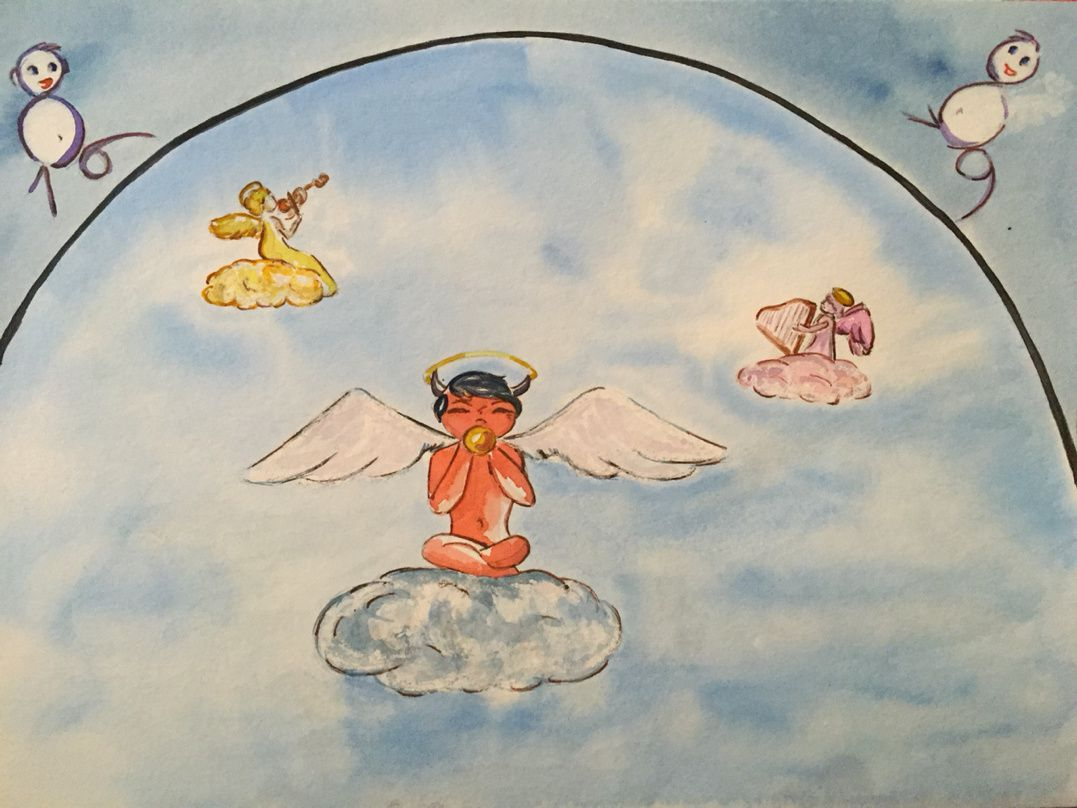 Le gentil petit diable : Scène finale