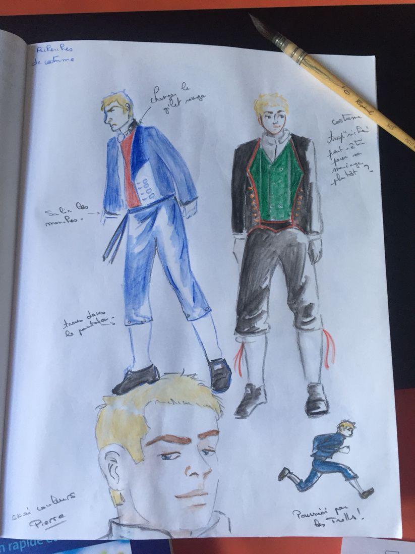 Peer Gynt : essai couleur et étude des costumes