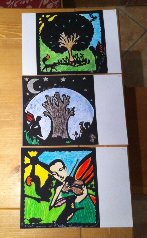 le résumé de l'arbre et la fée