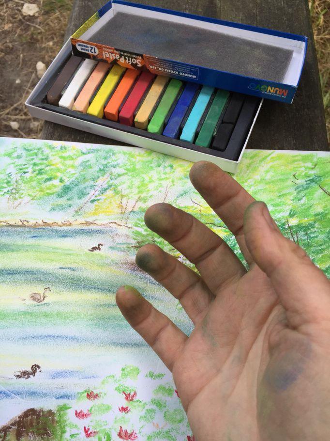 L'étang du parc de Baillet