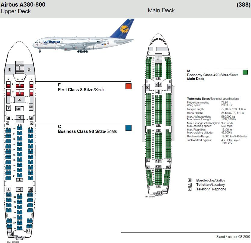 A380 Floor Plan Images Lufthansa Airbus A380 Interior First