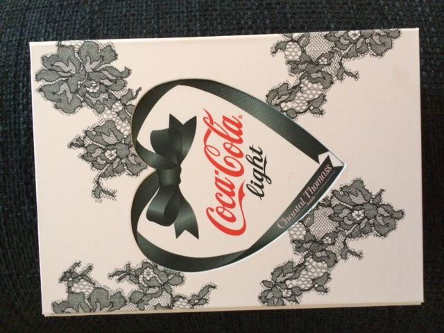 Coca cola light & Chantal Thomas pour un coffret collector