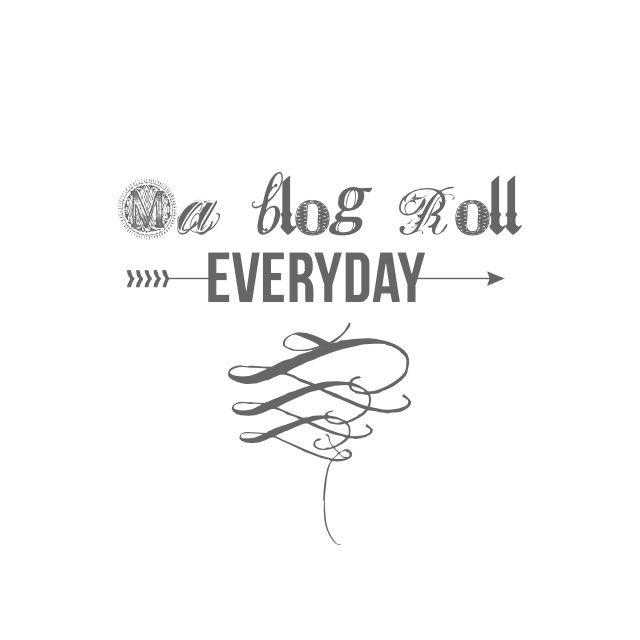 Ma pratique récente de la Blog Roll