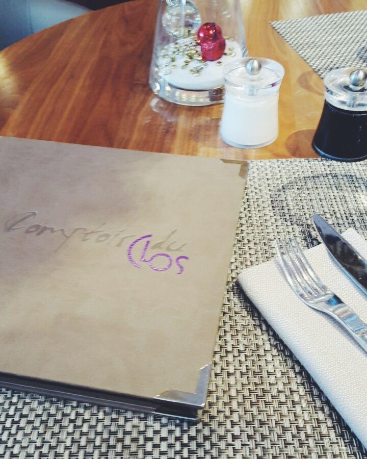 Déjeuner au Comptoir du Clos à Aix-en-Provence