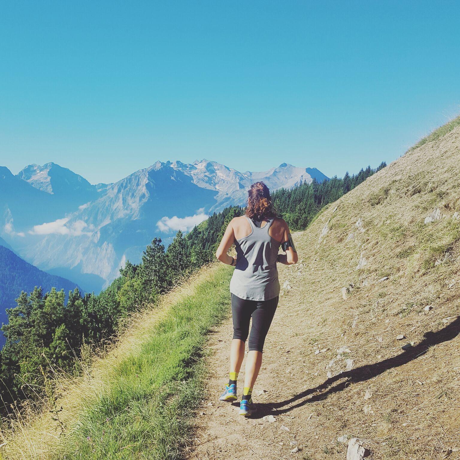 Courir en montagne mon expérience