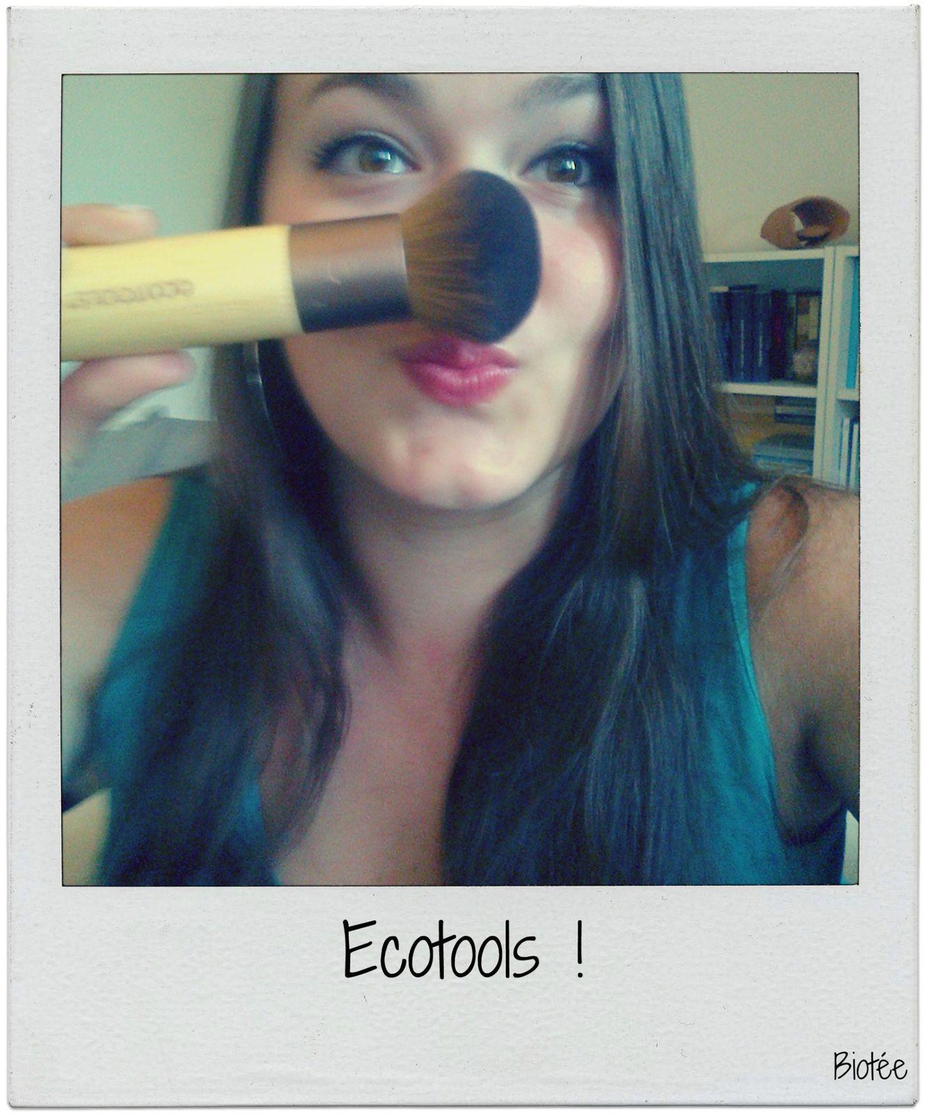 Pré-revue : J'ai acheté des pinceaux Ecotools !