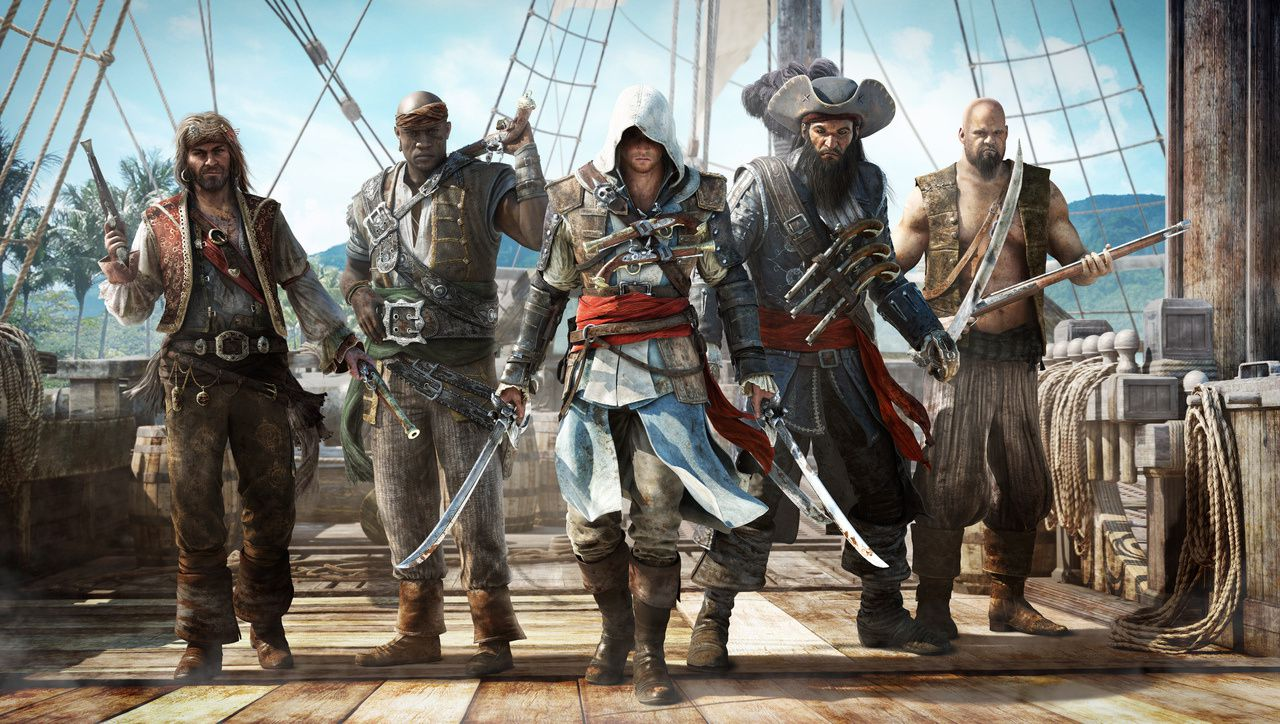 Assassin's Creed IV Black Flag : Pirates !