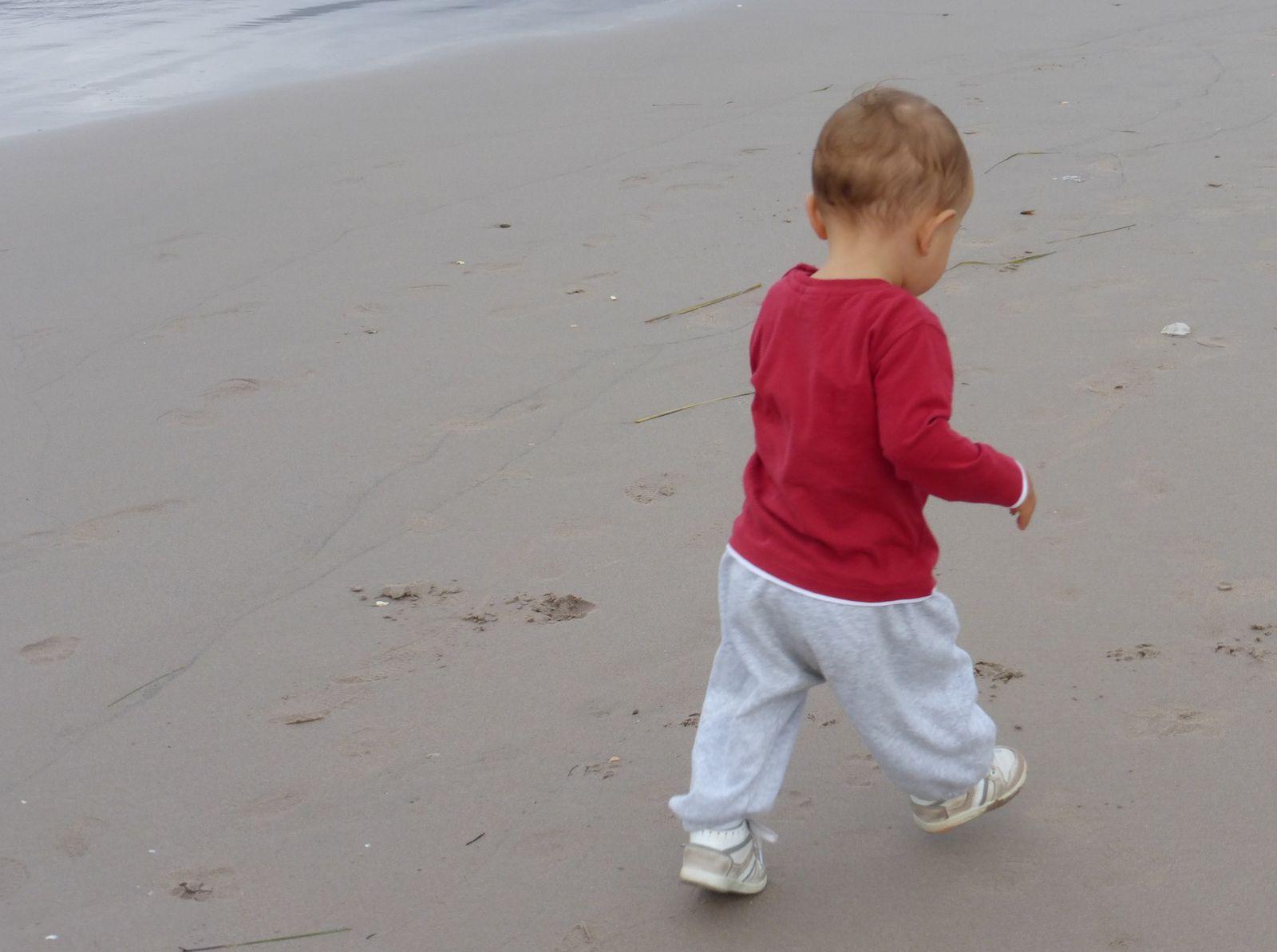 Simon à la plage