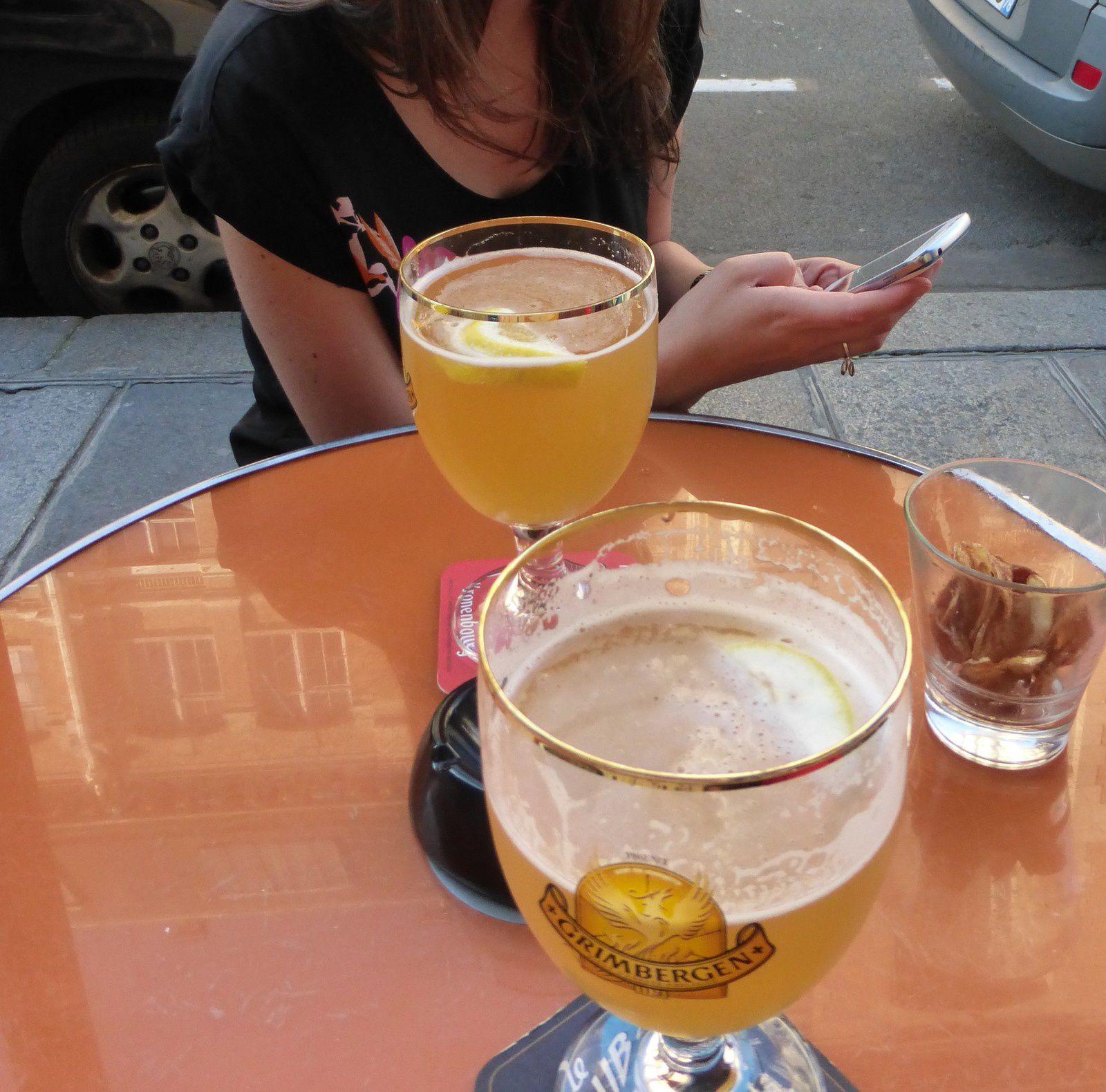 On commence par une petite bière tanquillou en terrasse!
