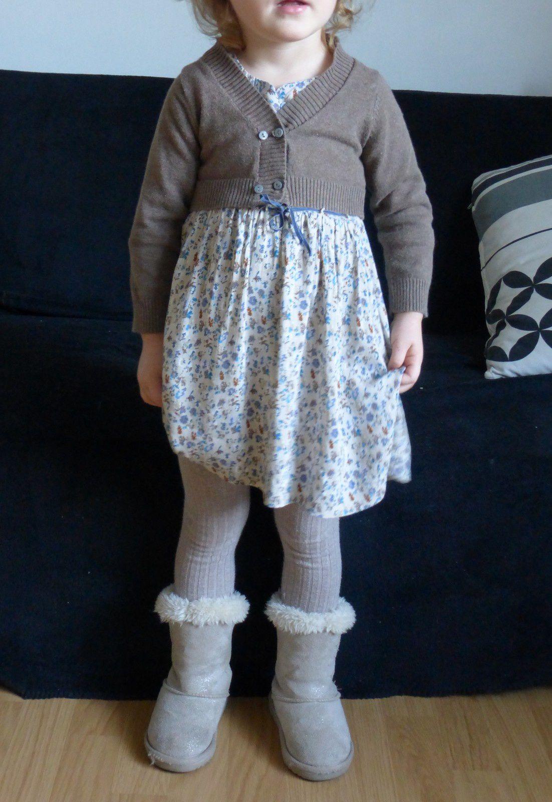 Petite robe à fleurs