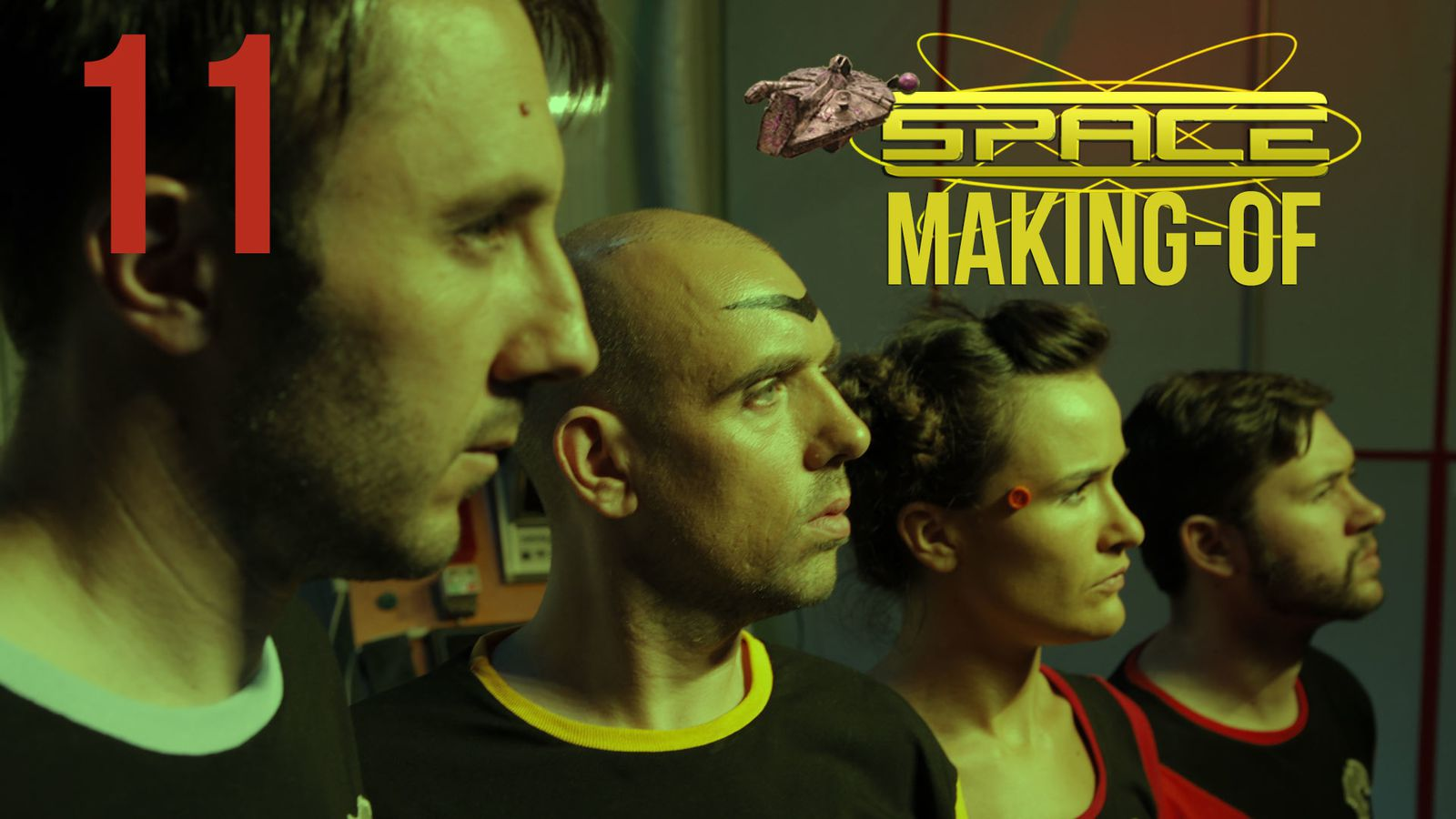 SPACE - MAKING OF 11 - Prions les doigts