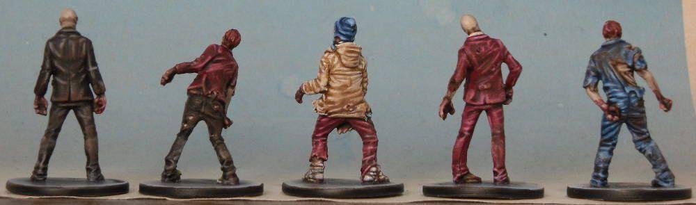 Zombicide Prison Outbreak-avancement peinture