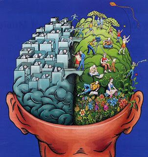 Une histoire de cerveau droite et de cerveau gauche? Pas si simple...