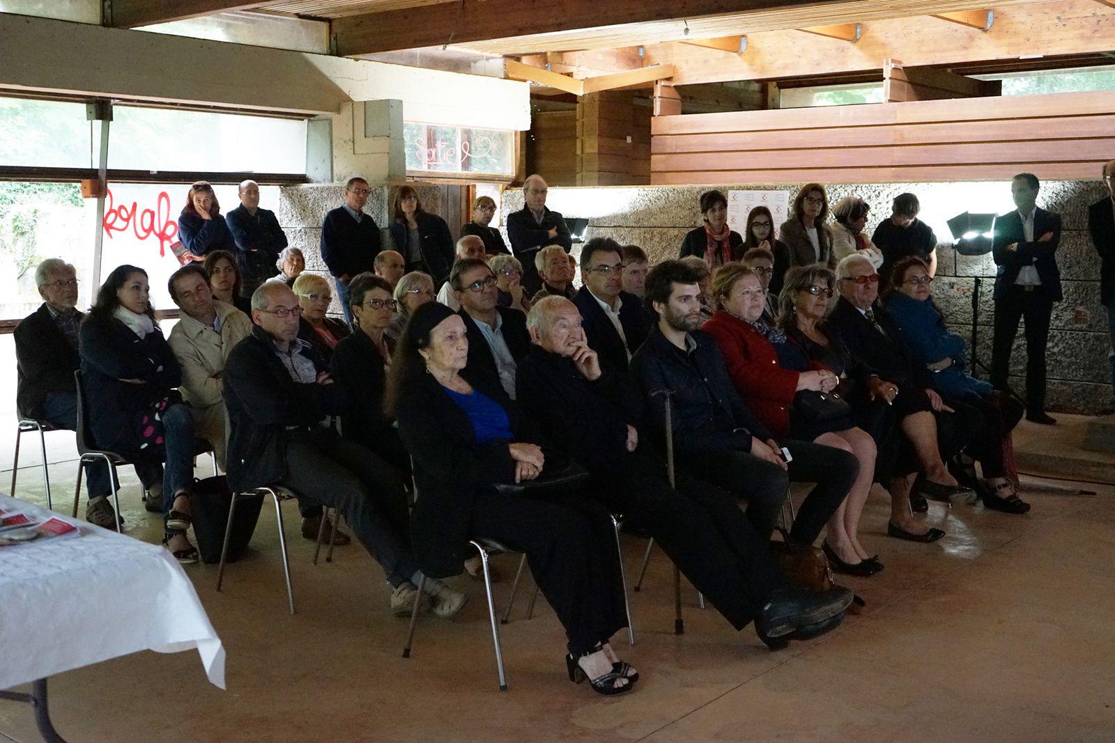 Soirée de signature de la convention de partenariat /Parcours/d'/architecture/ - Fondation du patrimoine, pour la restauration de l'atelier d'Edmond Lay.