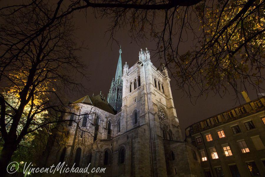 """Cathédrale de Genève - Atelier SGP sur le thème """"Paysages urbains"""" - Novembre 2013"""