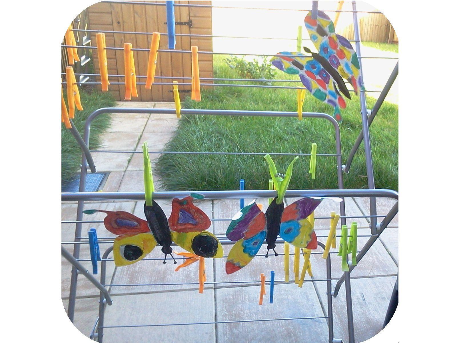 Carte papillon et symétrie