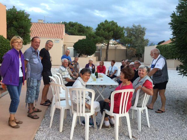 Séjour Port Barcares du 1er au 8 octobre avec André et Annette