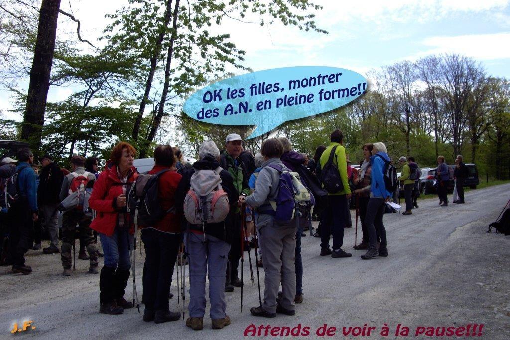 Dimanche 30 avril en Argonne avec les randonneurs d'Argonne