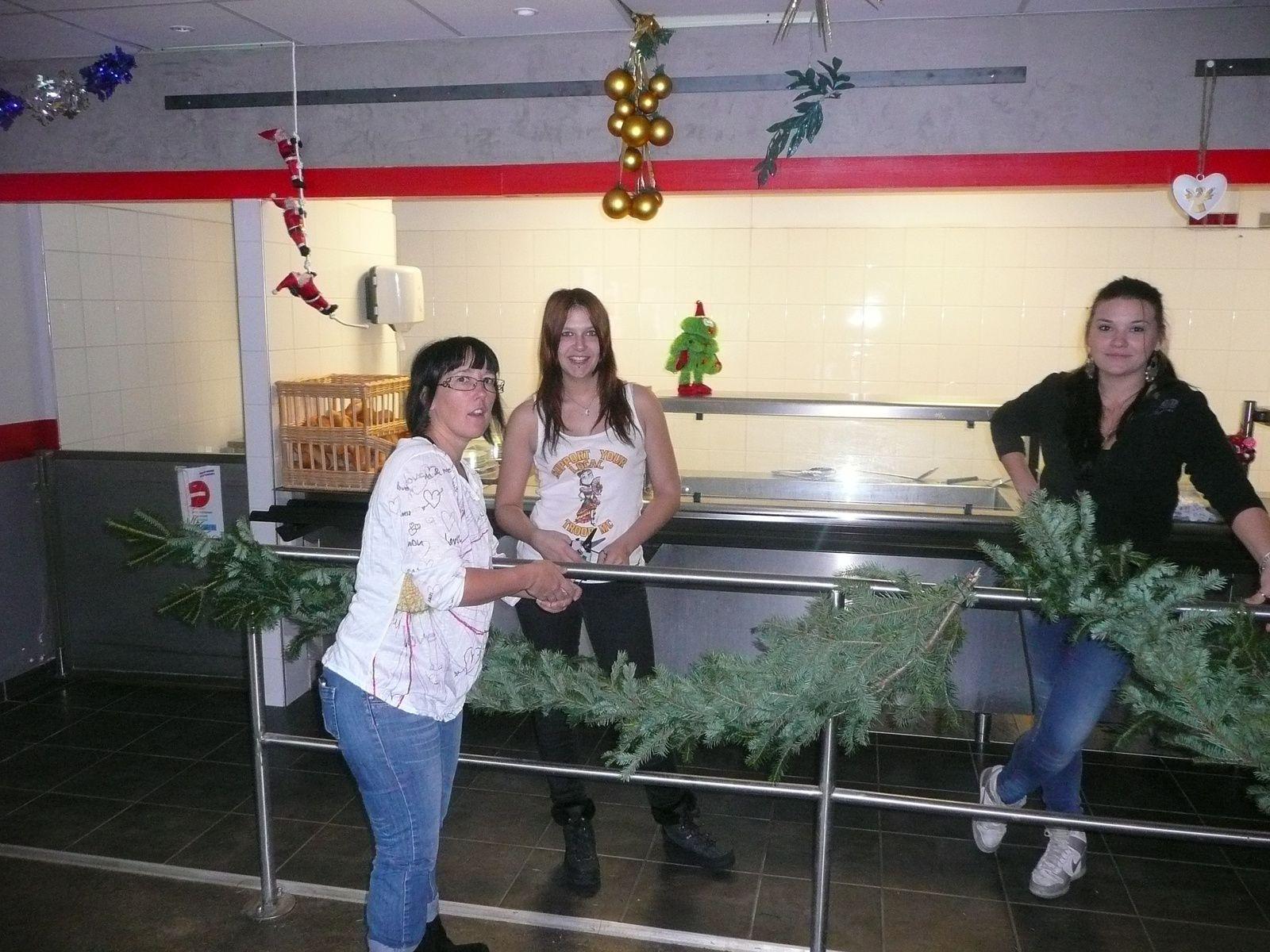 Décoration du restaurant par le CFA et GRETA