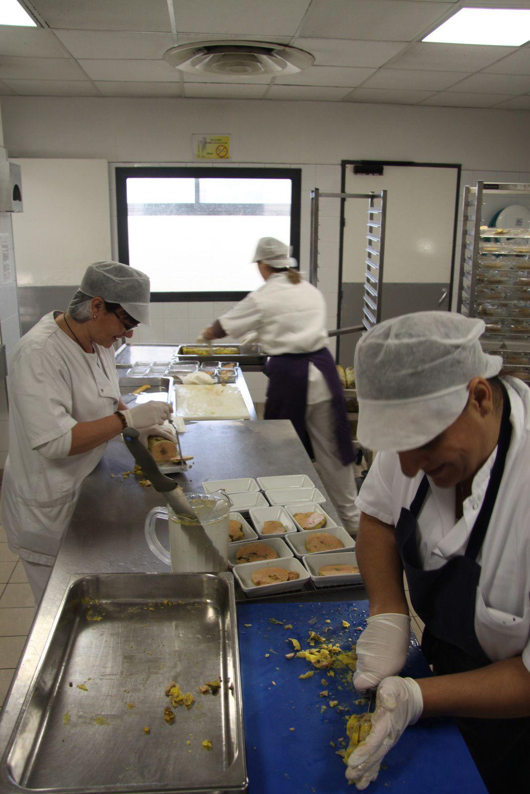 nougat de foie gras maison