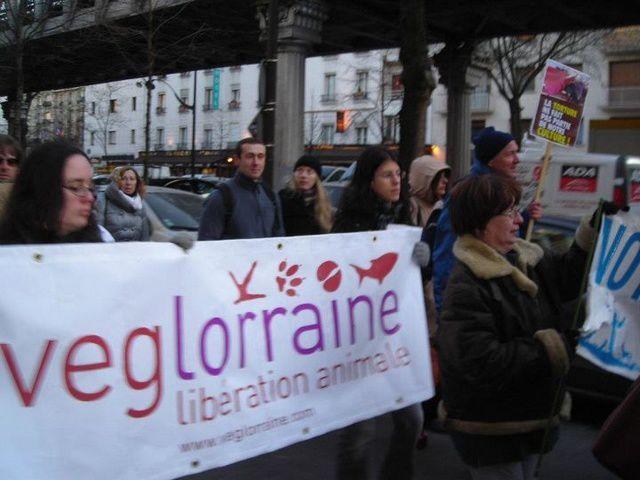 Manifestation contre la corrida - Paris