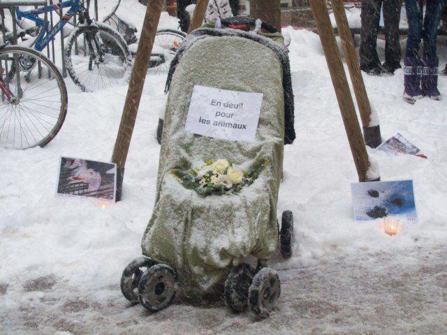 Manifestation &quot&#x3B;Stop au carnage de Noël&quot&#x3B; - Metz