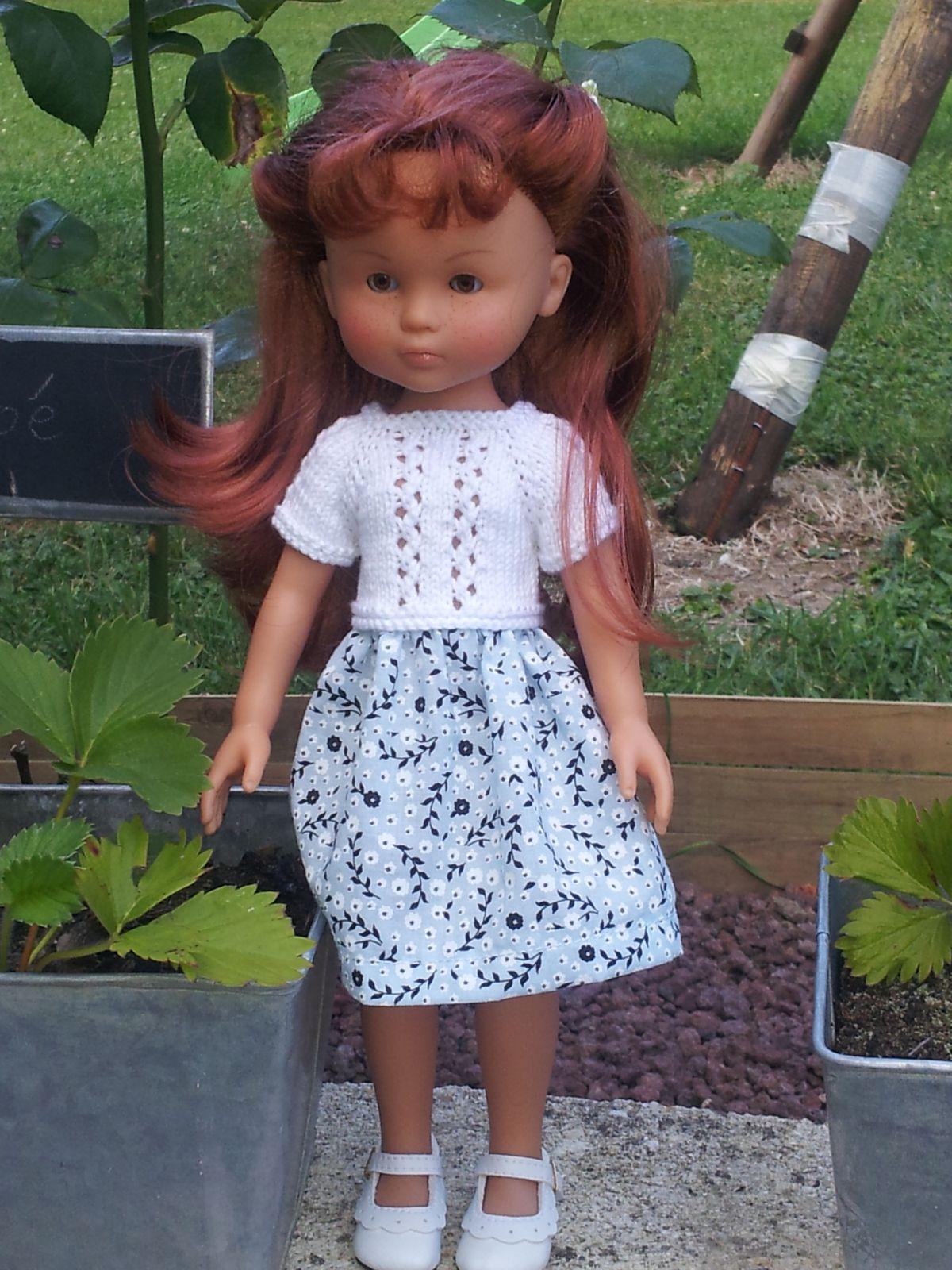 Petite robe tricot couture