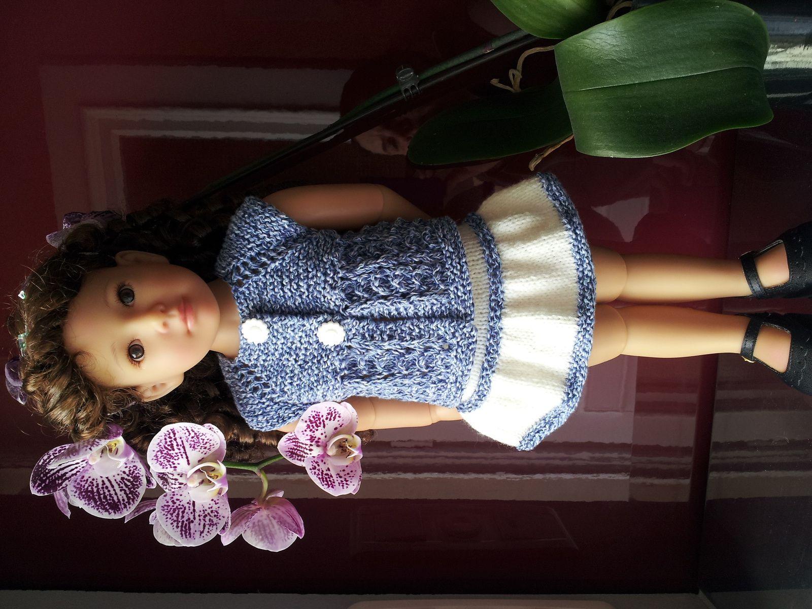 Ambre et sa nouvelle tenue