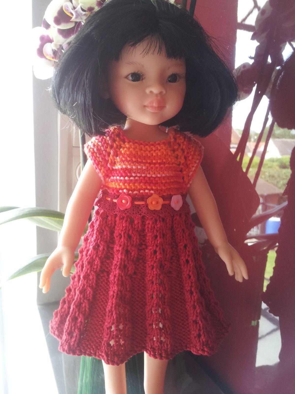 Maemi avec sa nouvelle robe