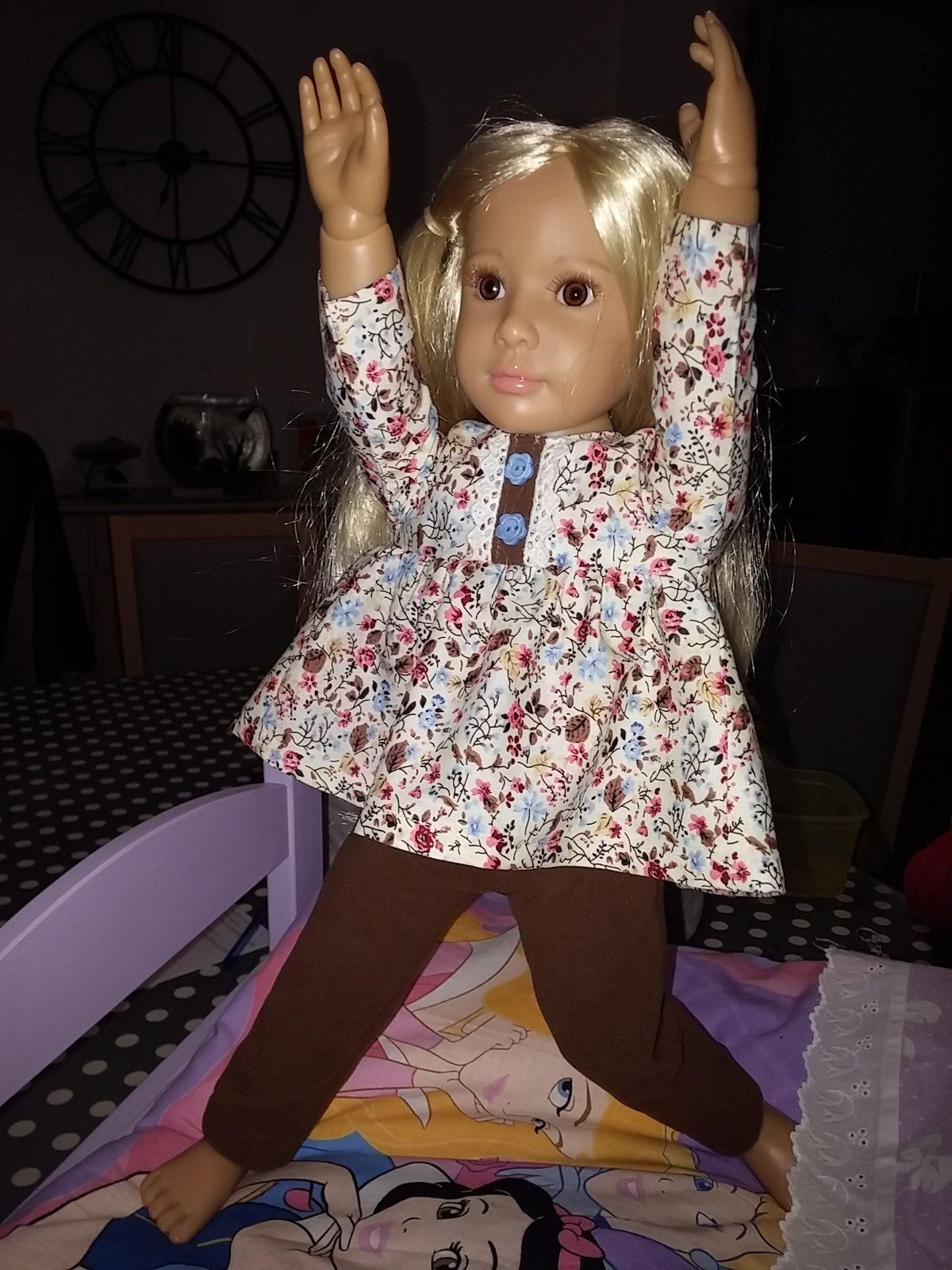 Louise et son pyjama