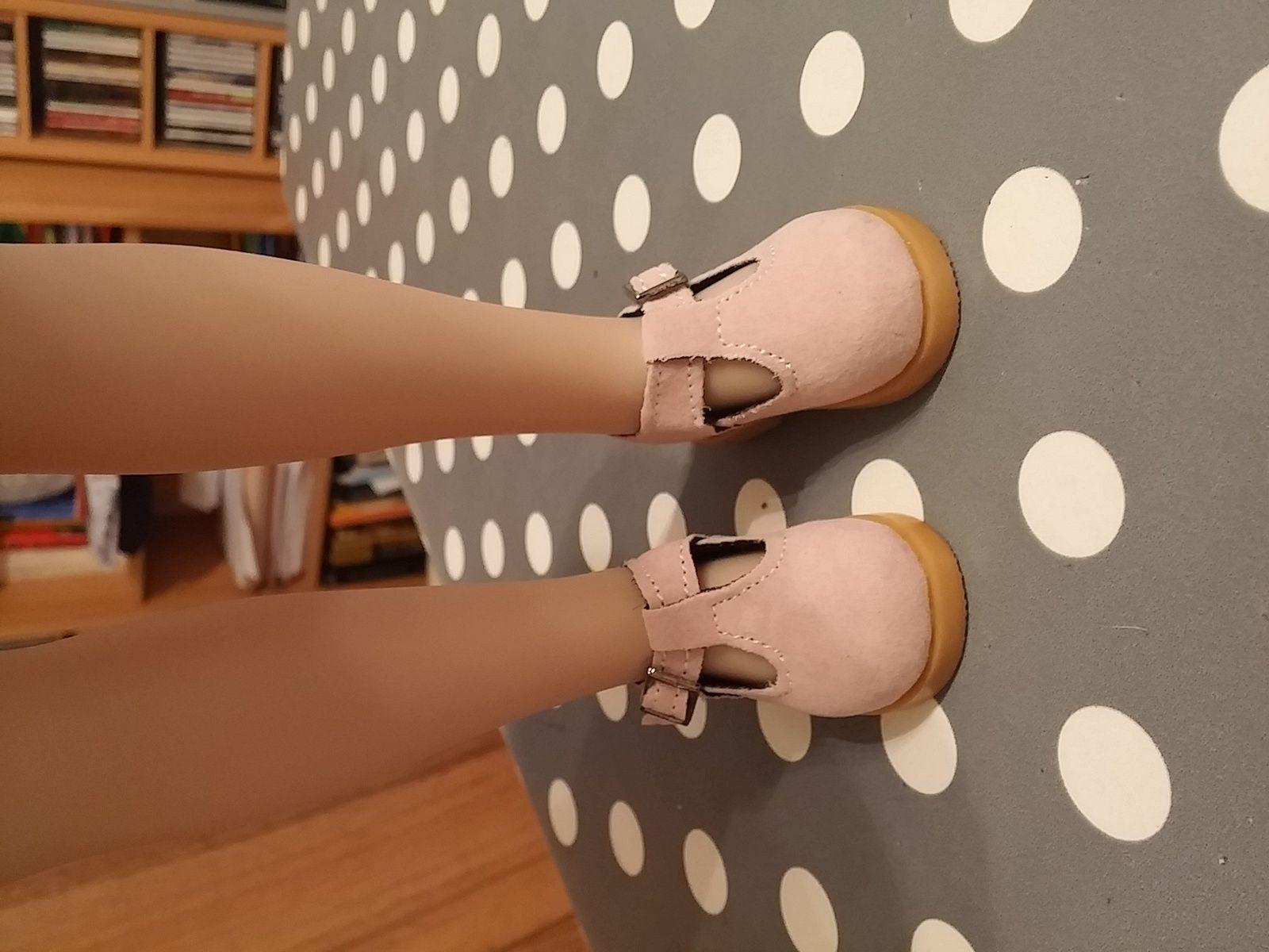 Les chaussures de ma Pauline