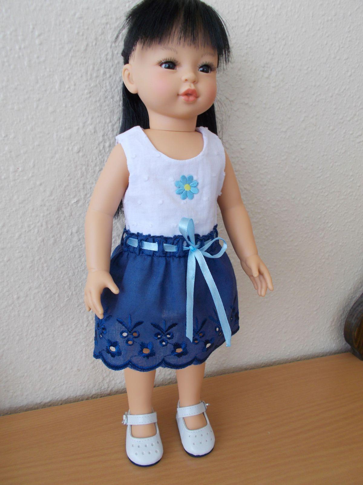 Kaori avec une tenue &quot&#x3B;made in maman&quot&#x3B;